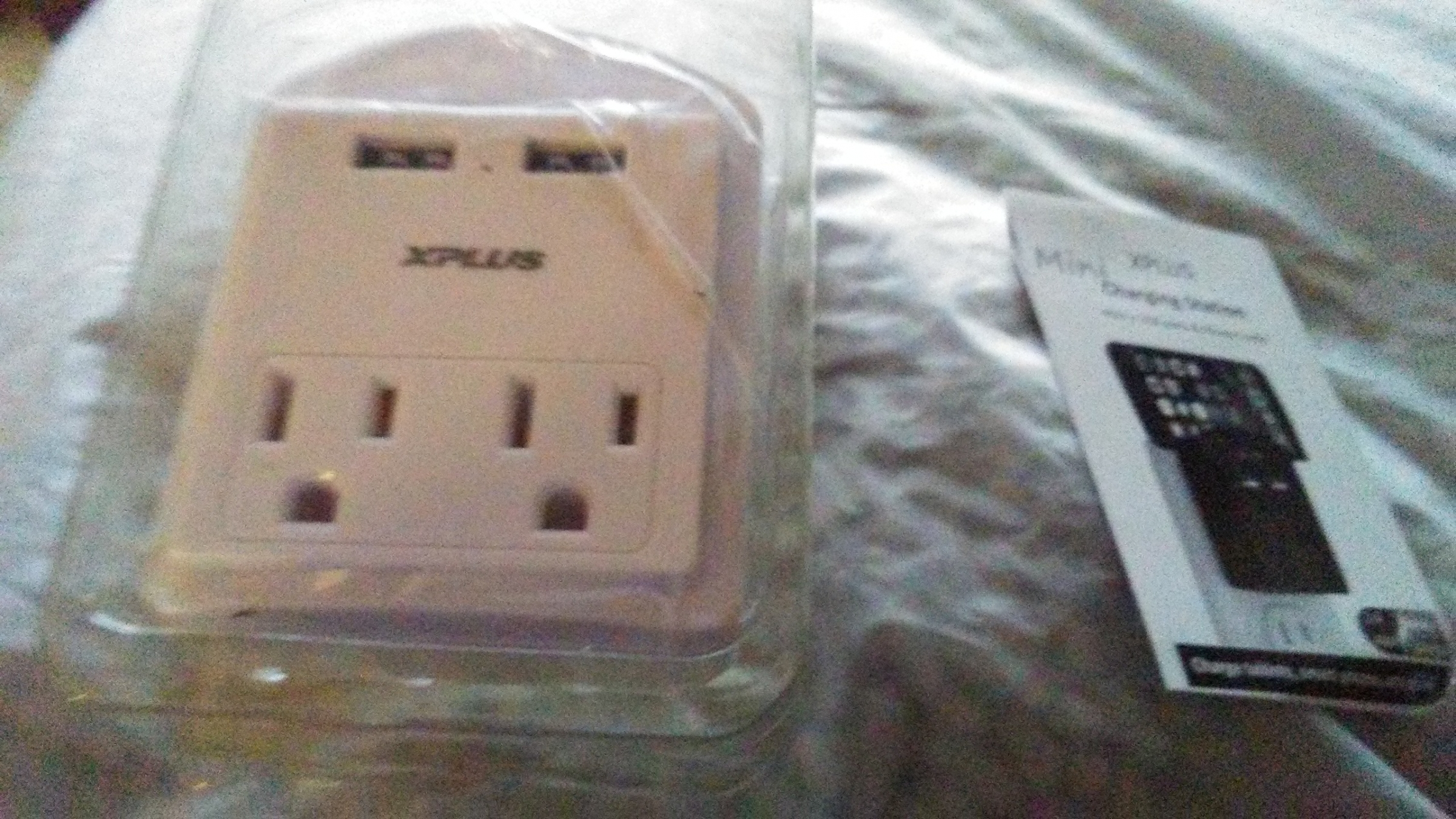 I bought this USB Wall Outlet as a way to add functionality to my standard wall outlet.