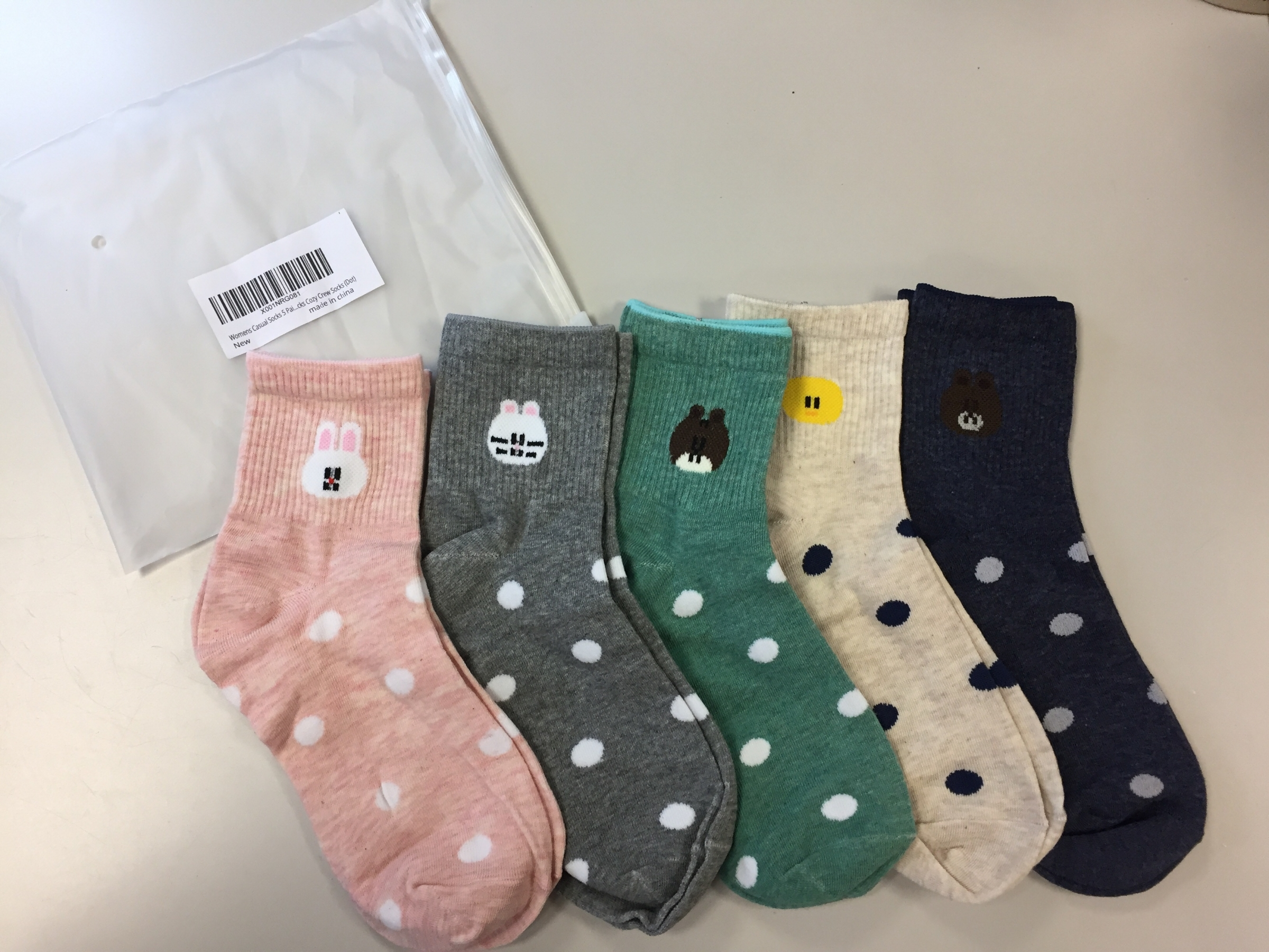 Adorable socks