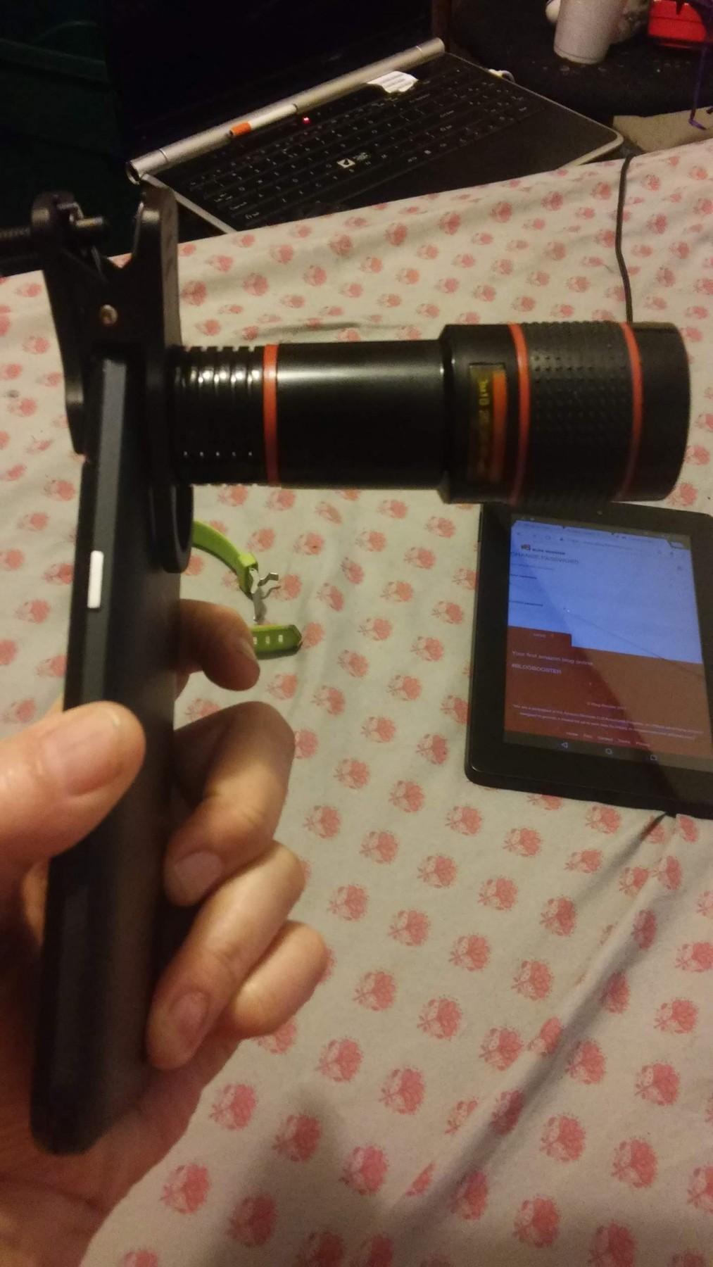 Phone telephoto lens