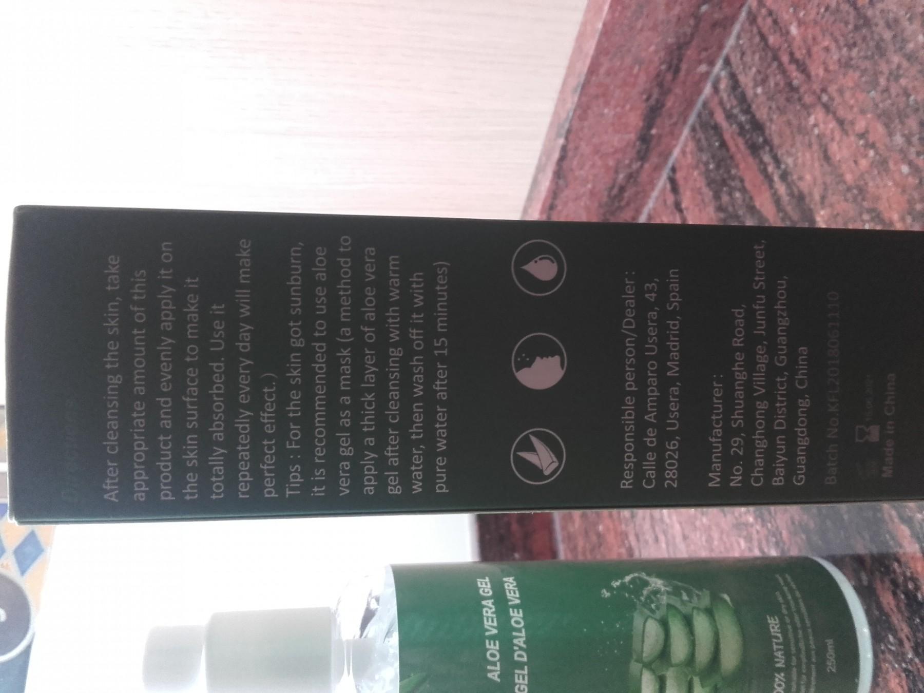 Para refrescar la piel