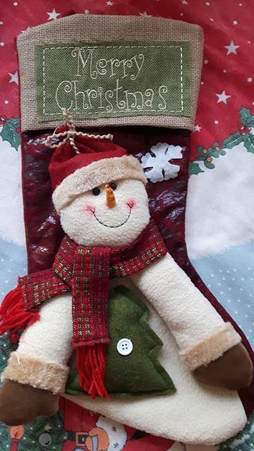 Superbe chaussette de Noël