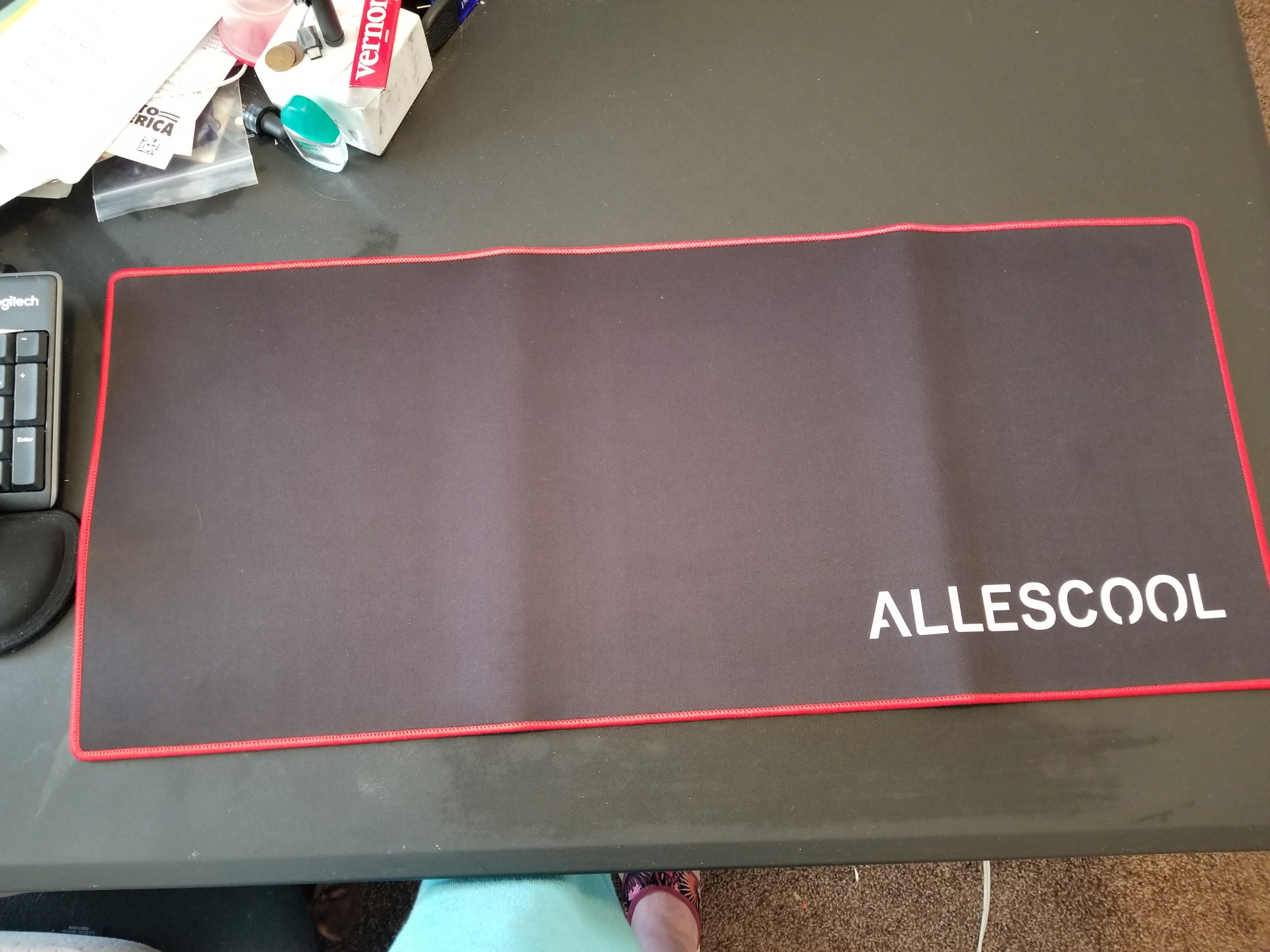 Allescool Gaming Mouse Pad