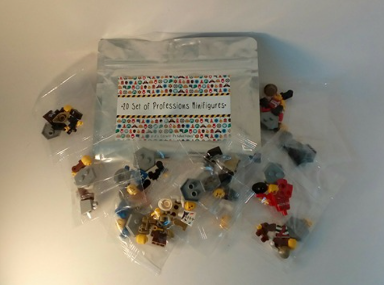 My nephew will have lots of fun with this set of 20 mini figures!