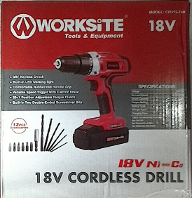 Nice cordless drill for the handyman!