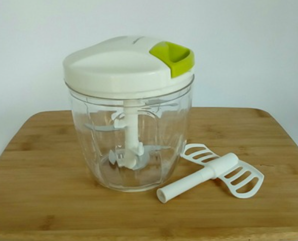 Love this food chopper - no batteries or electricity required!