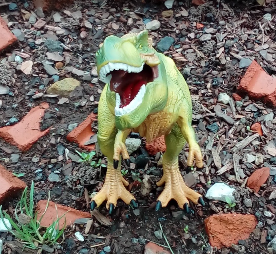 Detailed and realistic dino!