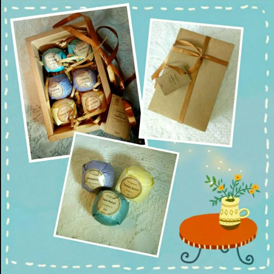 Bath Bombs Gift Set by Rackarster,