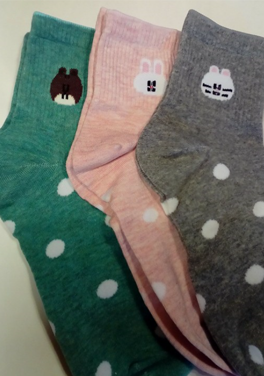 Cute, fun and colorful socks!