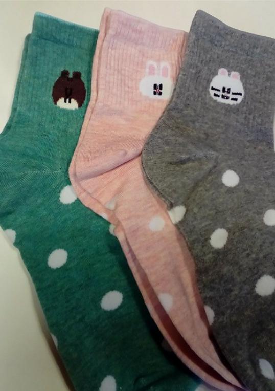Cute, fun and colorful socks!