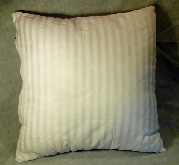 Soft and fluffy pillow insert!