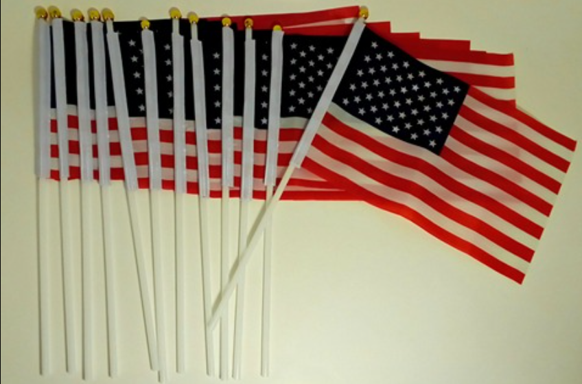 Nice quality American Flags
