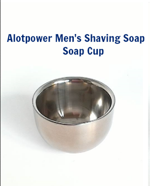 Very nice and durable stainless steel shaving cup!