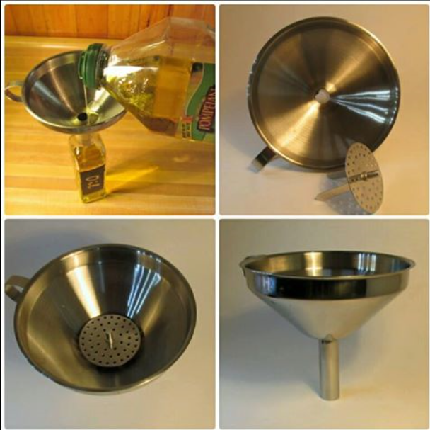 Cheflikes Stainless Steel Kitchen Funnel