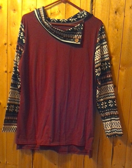 Stylish and comfortable tunic!