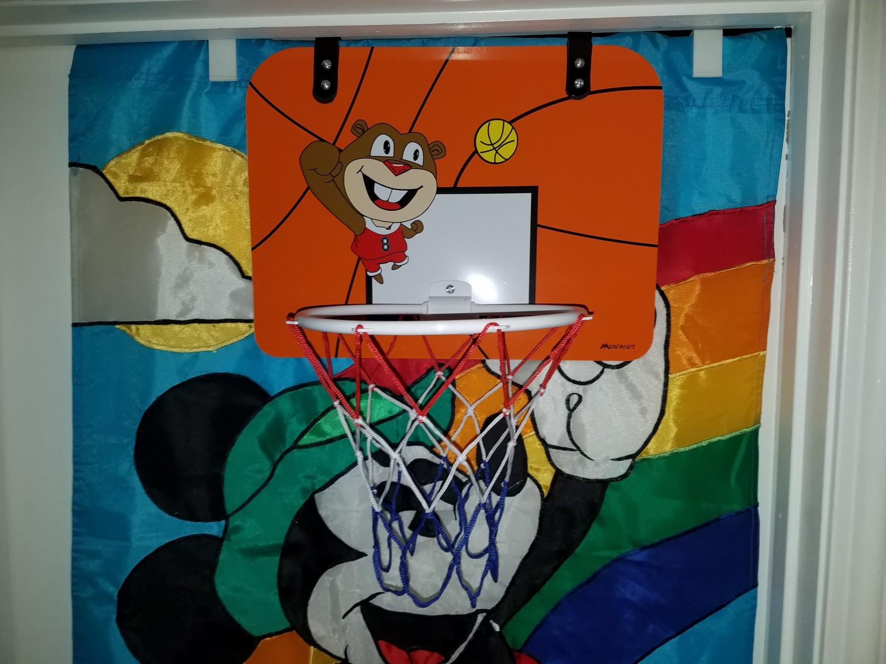 Great, over the door, basketball hoop, for kids
