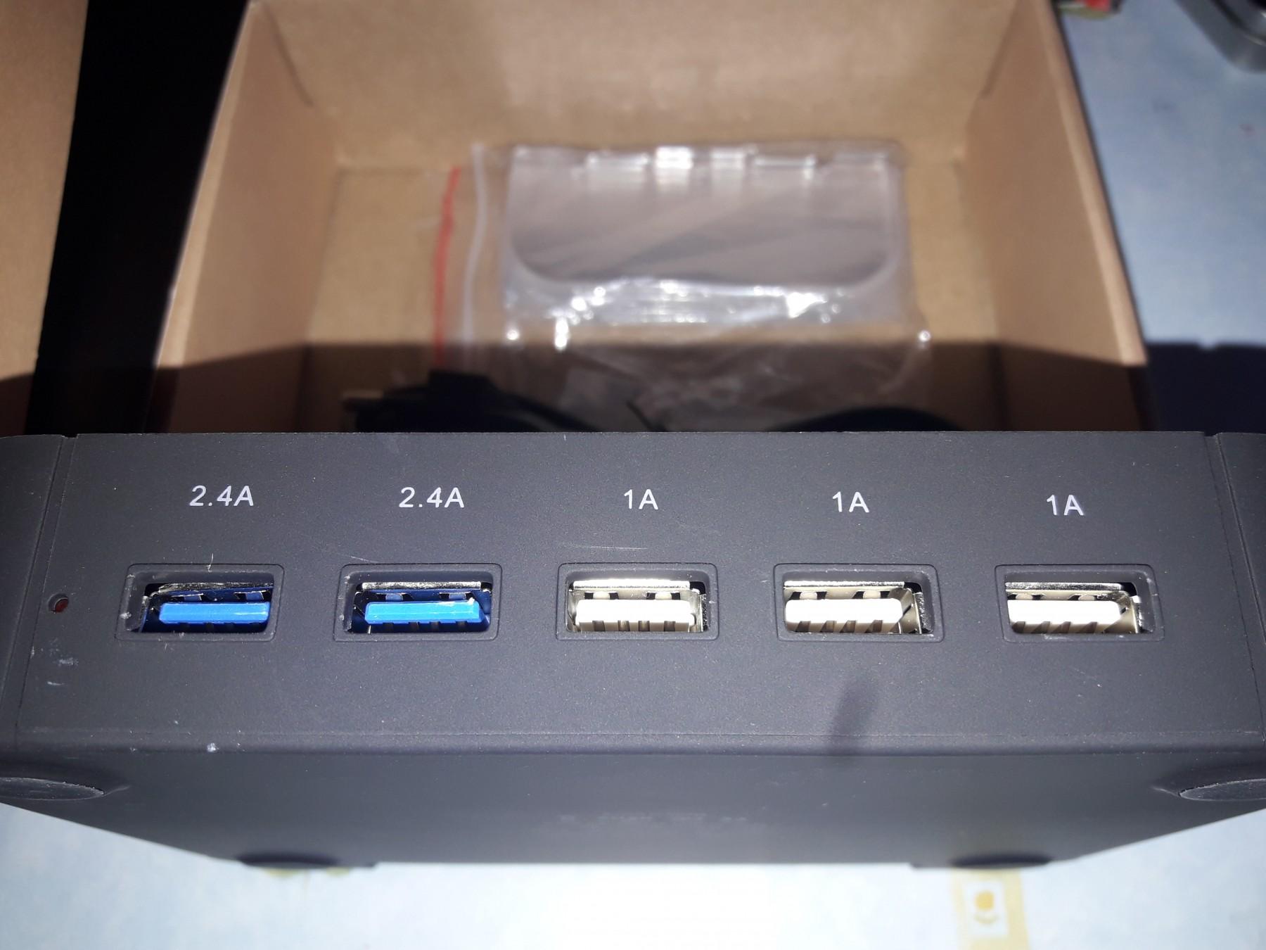 Estacion carga USB