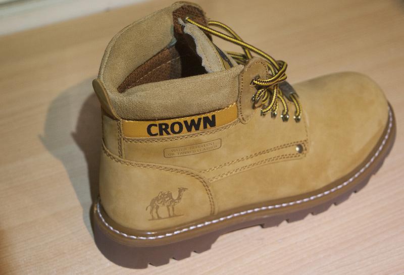 Botas de Montaña Camel Crown (Color amarillo)