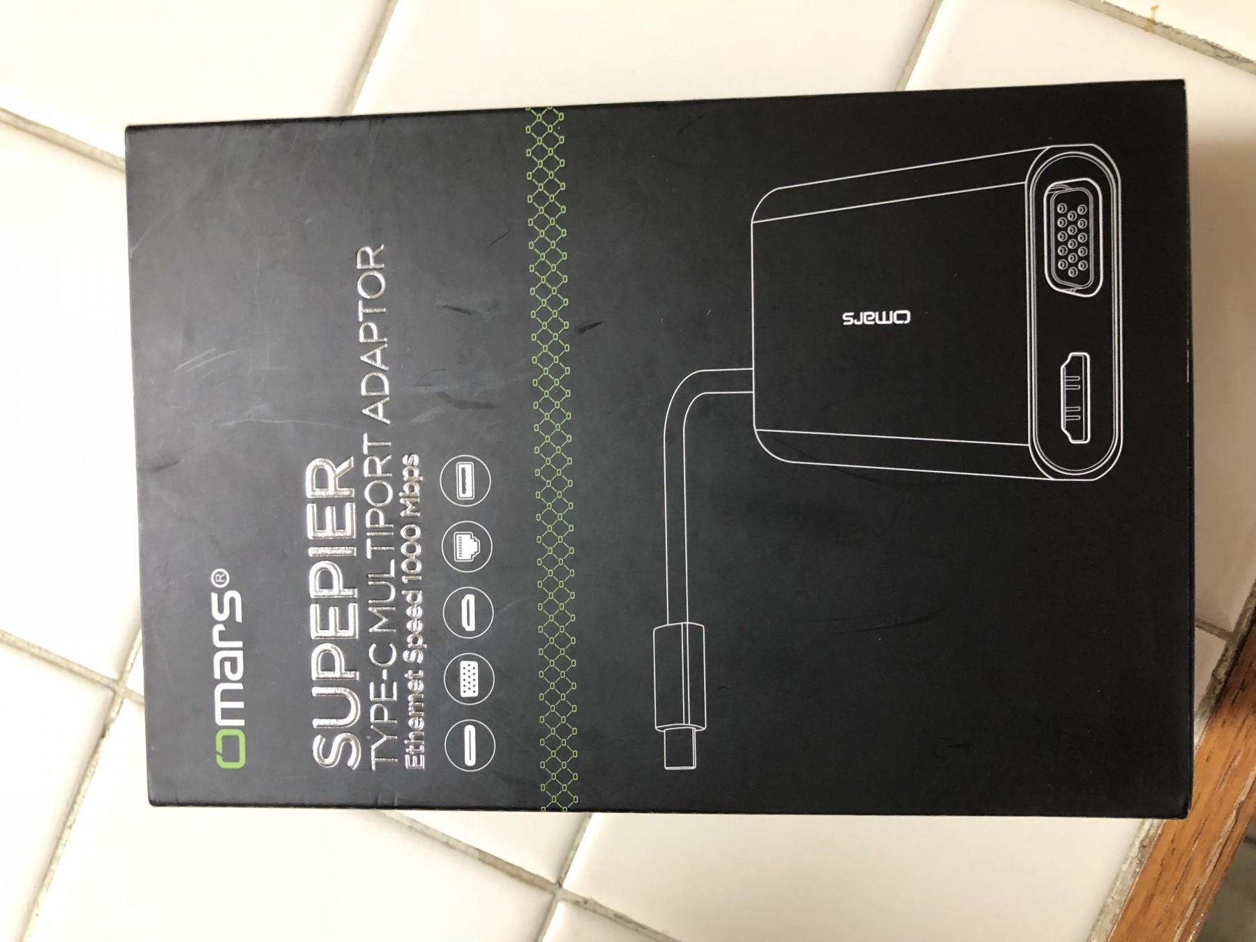 6-in-1 USB C Hub