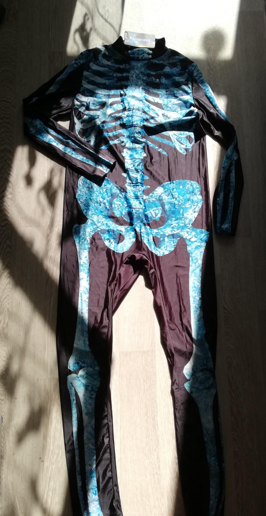 Combinaison Squelette pour Halloween