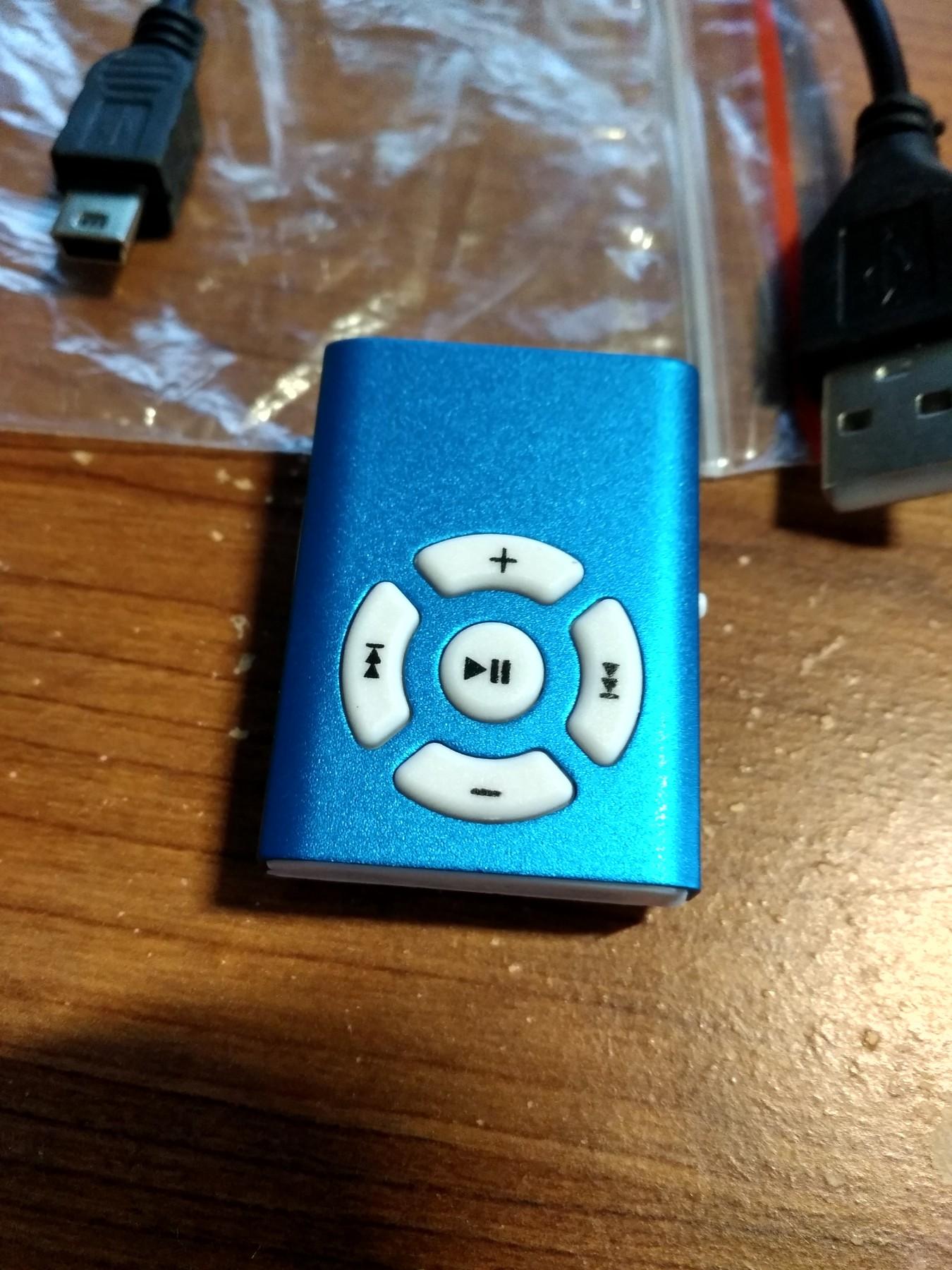 New Mini Clip Mirror Sport MP3 Player