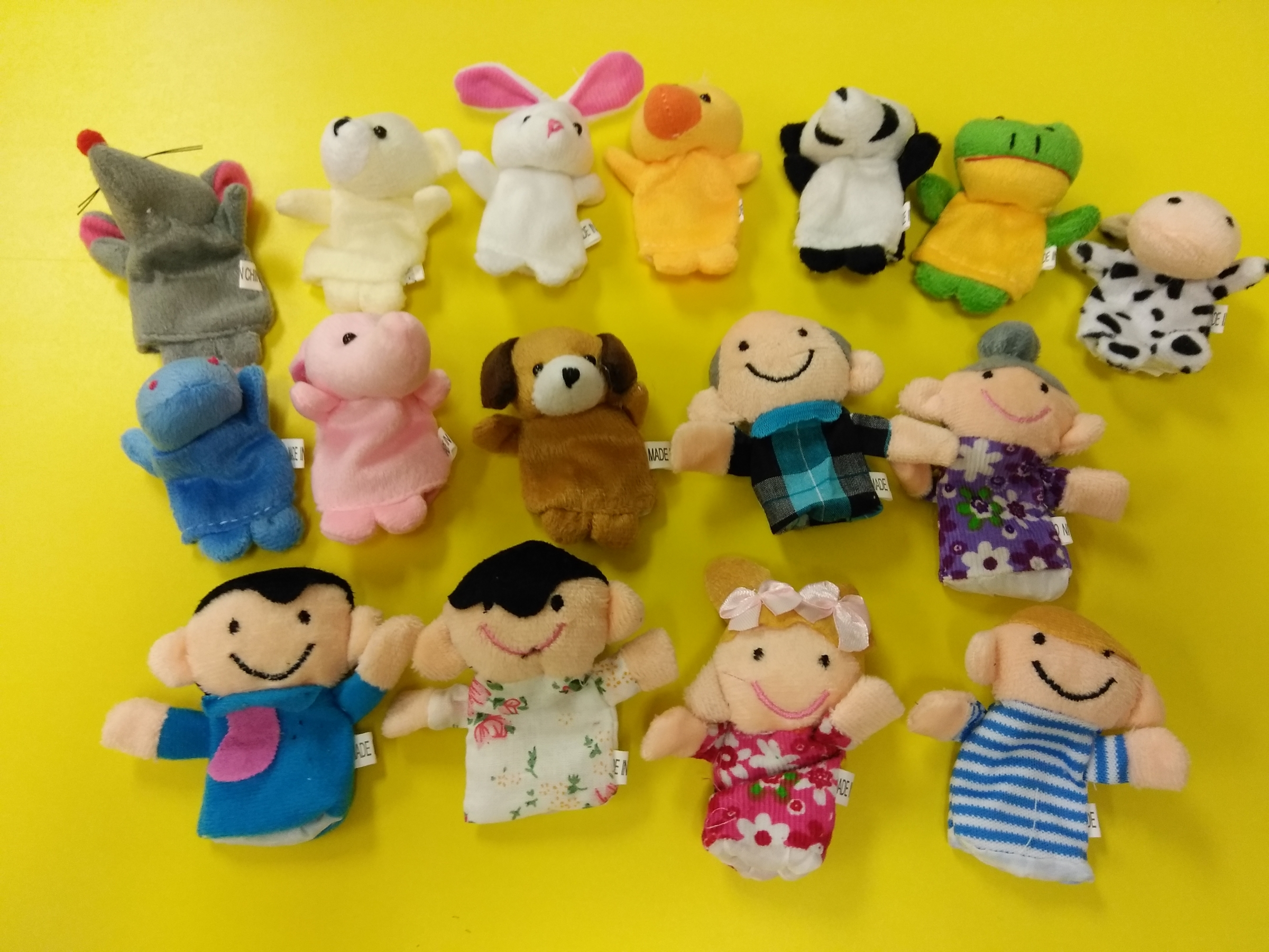 Fun finger puppets!