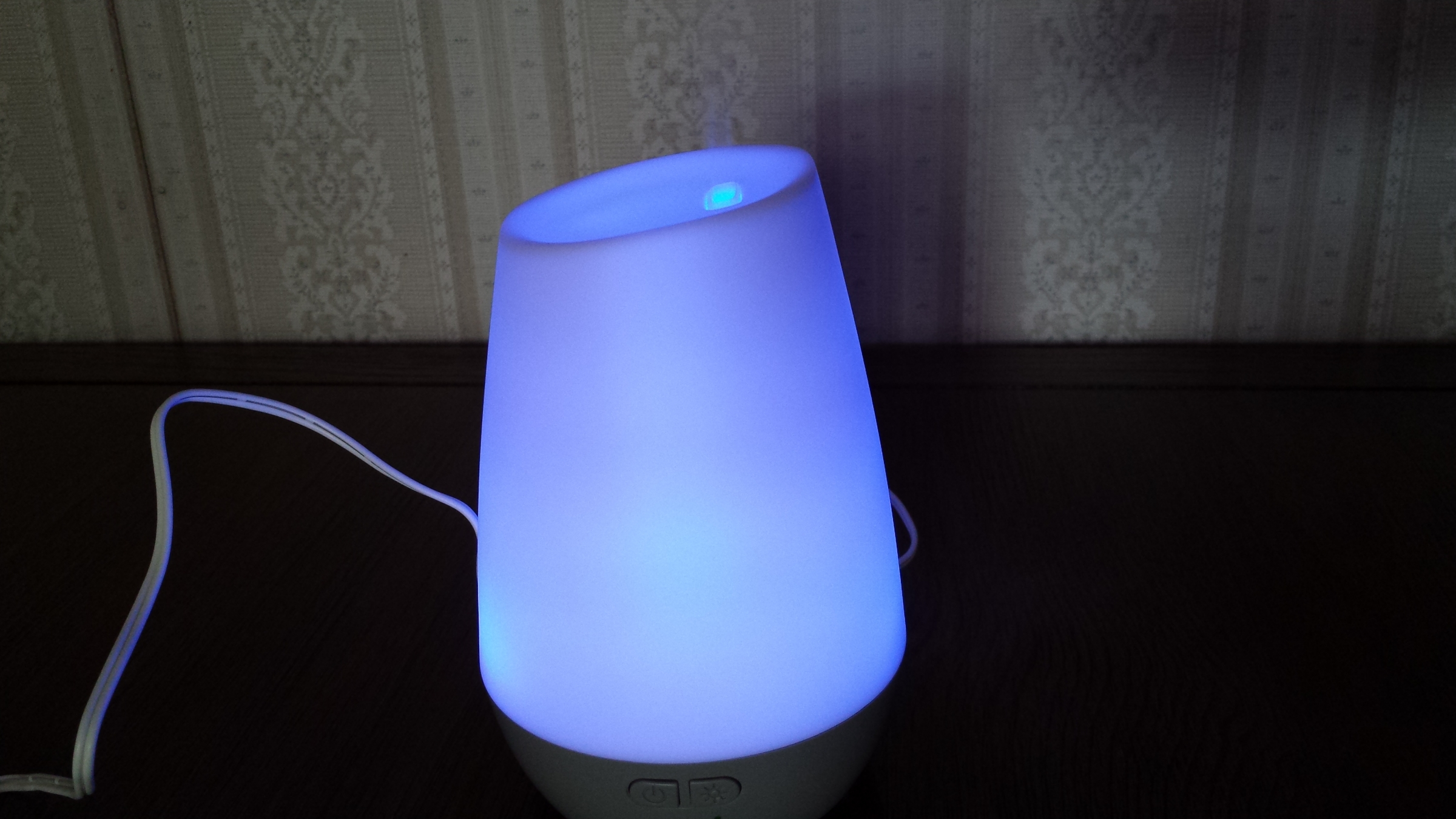 Colorful diffuser with 30 seconds on and 30 seconds off!