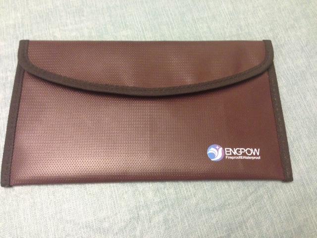 Fireproof Envelope Safe Money Bag