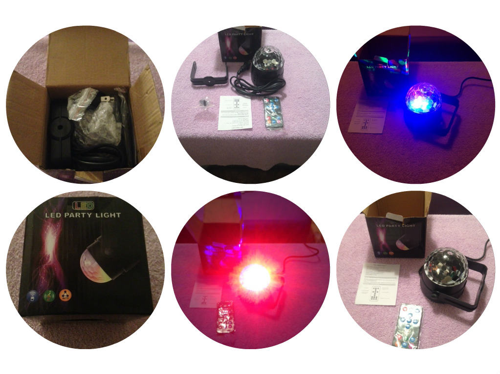 Awesome Disco Light to liven up parties, celebrations and events!!!