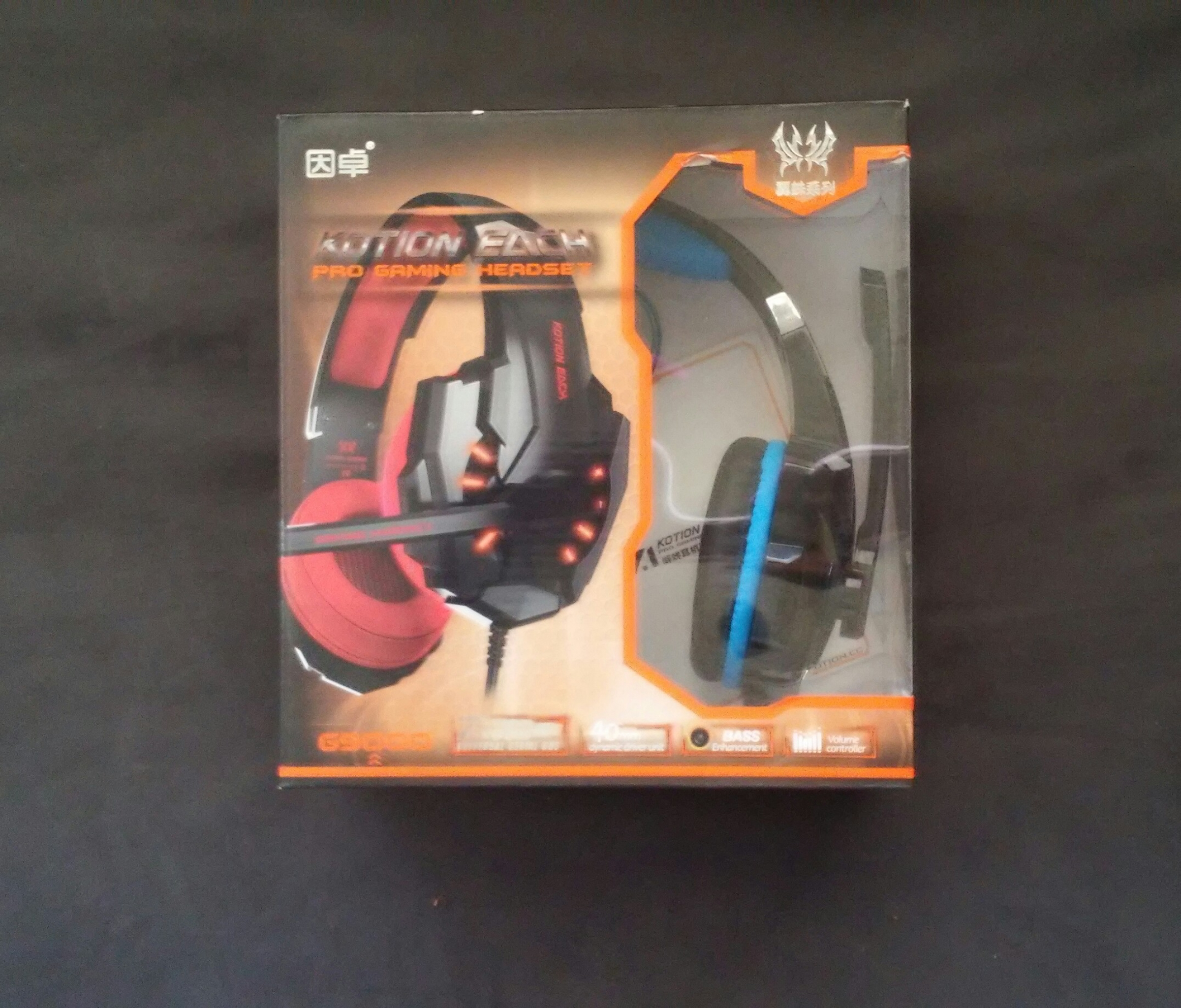 Awesome gamer headset