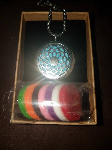Essential Oil Diffuser Pendant Necklace