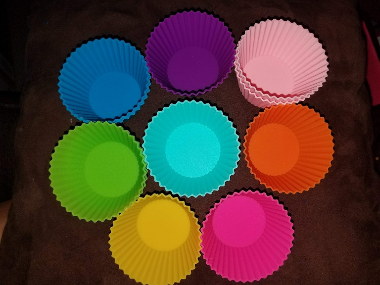 Silicone Muffin Cup Liners