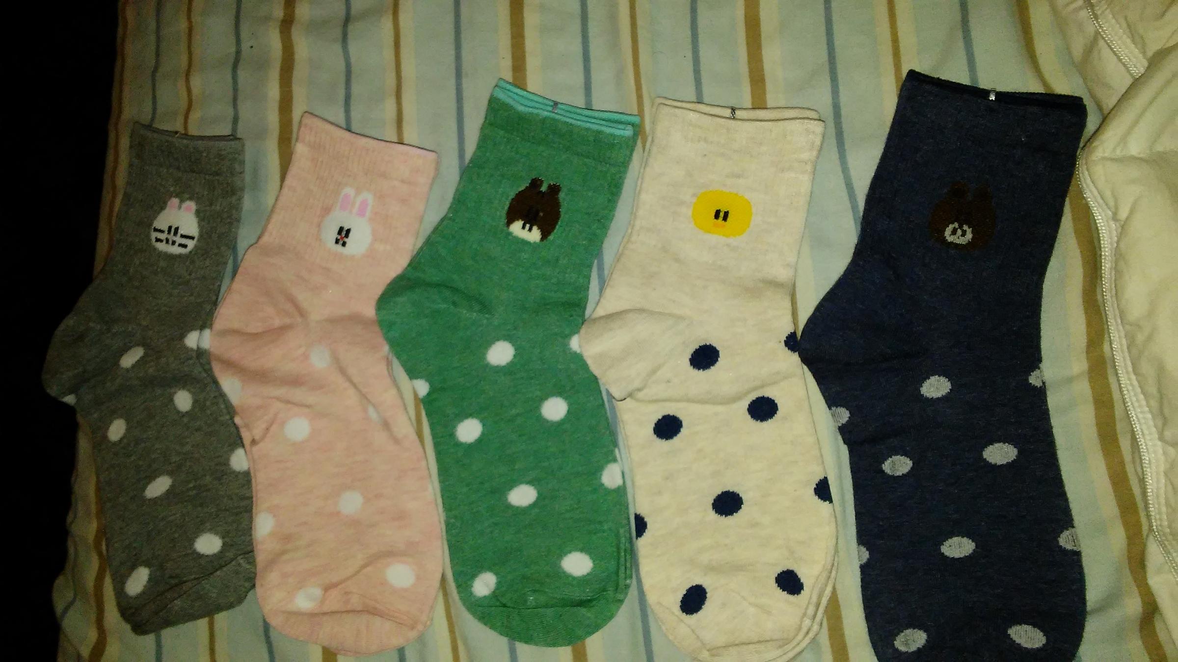 Very comfortable cute socks