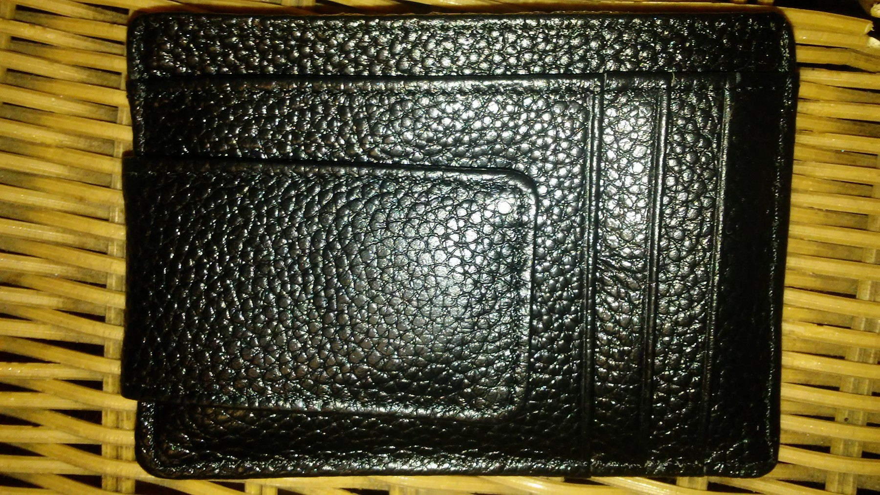 Nice men's front pocket wallet