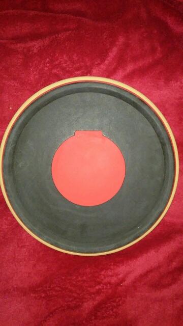 Excellent sounding drum practice pad