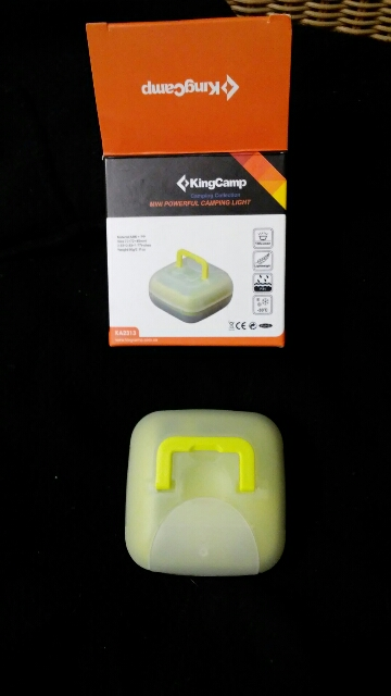 Very bright and durable camping light
