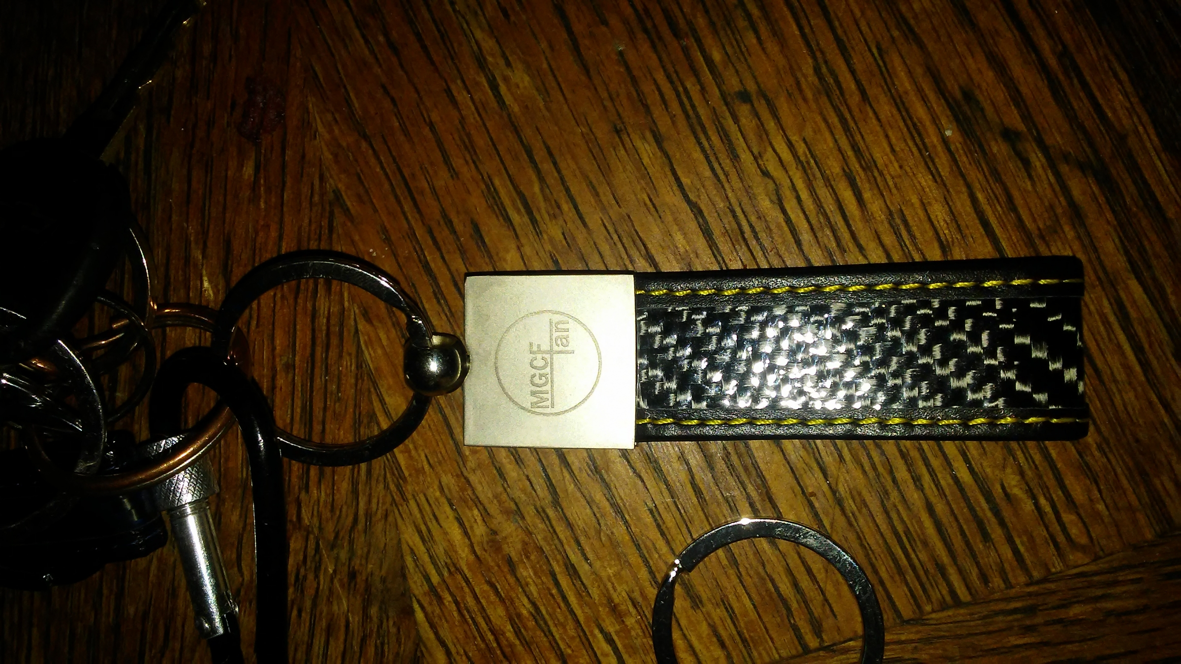 Really durable well made keychain