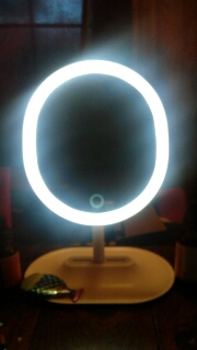 Bright lighted mirror