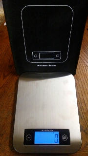 Very accurate easy to use kitchen scales