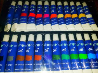 Everything You Could Need For Oil Painting - Including the Canvas!