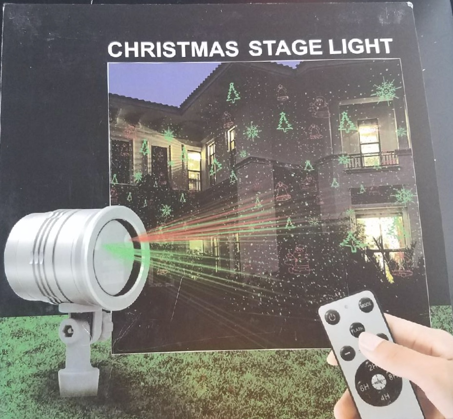 Great Christmas Stage Light