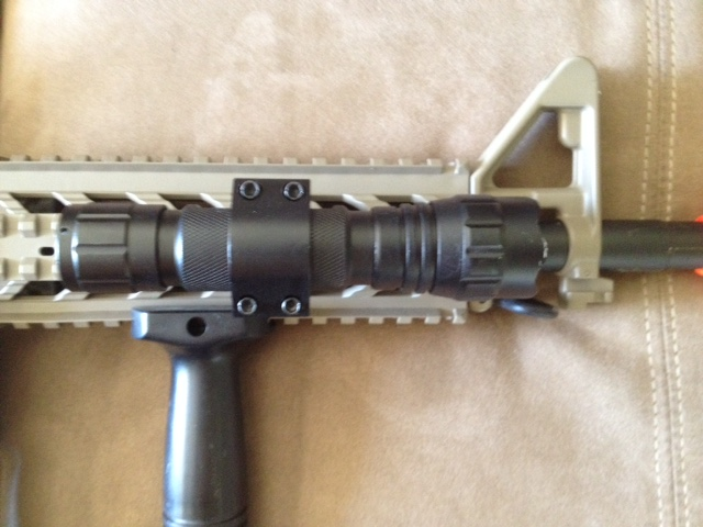 Great green light-use on my airsoft gun!