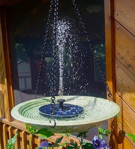 wonderful yard bird bath