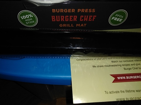 great burger press