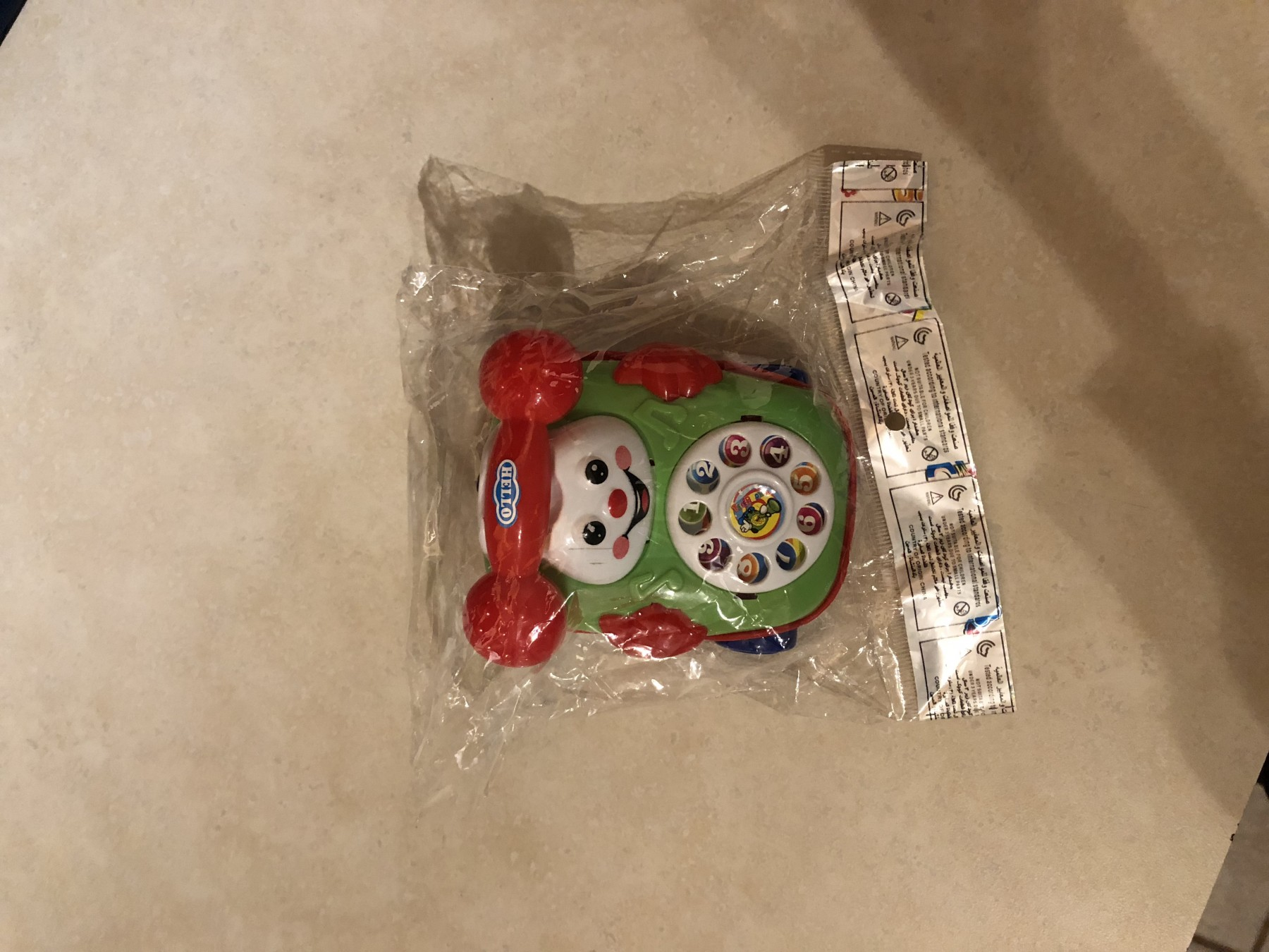 Toy car phone