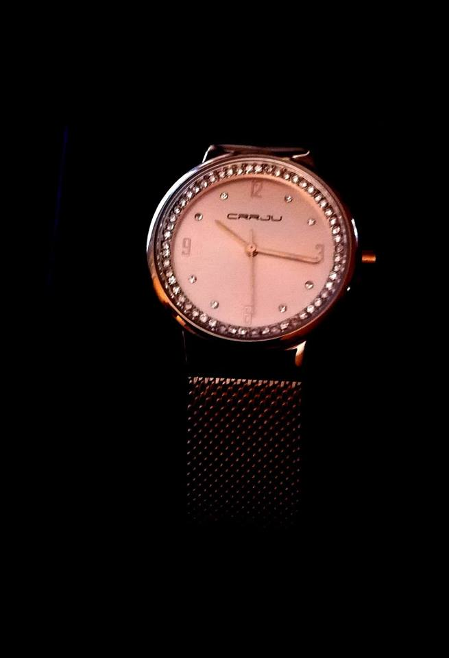 Wunderschöne Uhr in rosegld!
