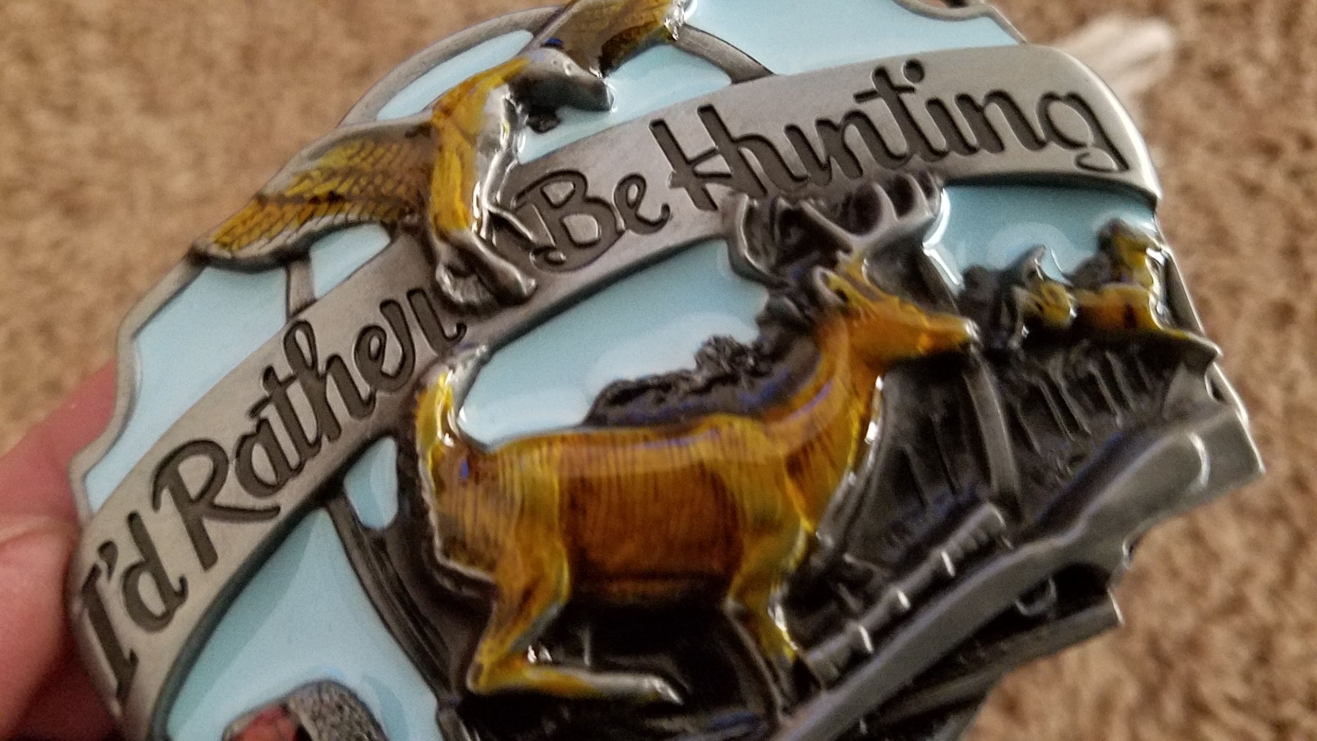 Just love this neat buckle!