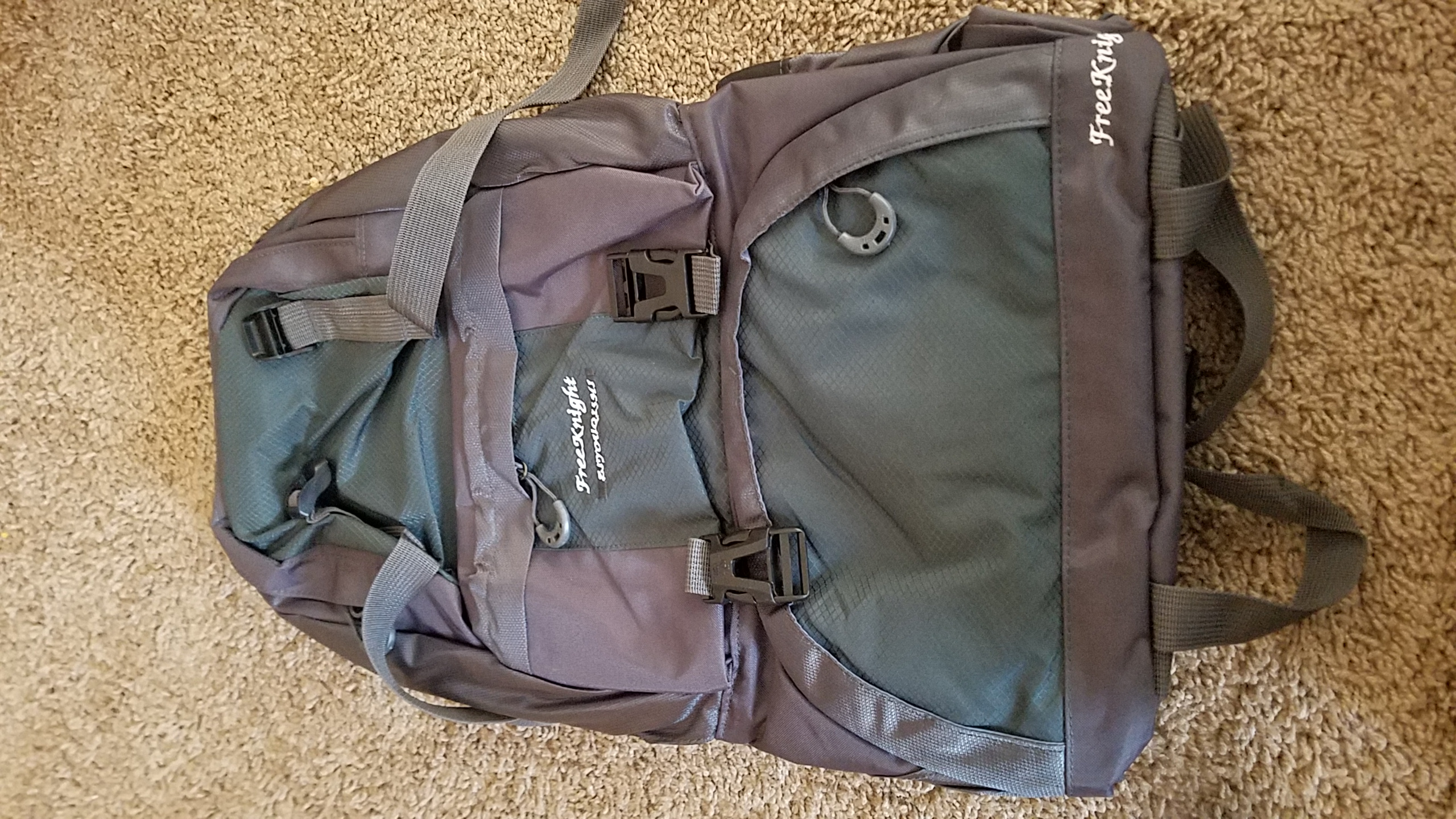 Decent sized backpack for its price.