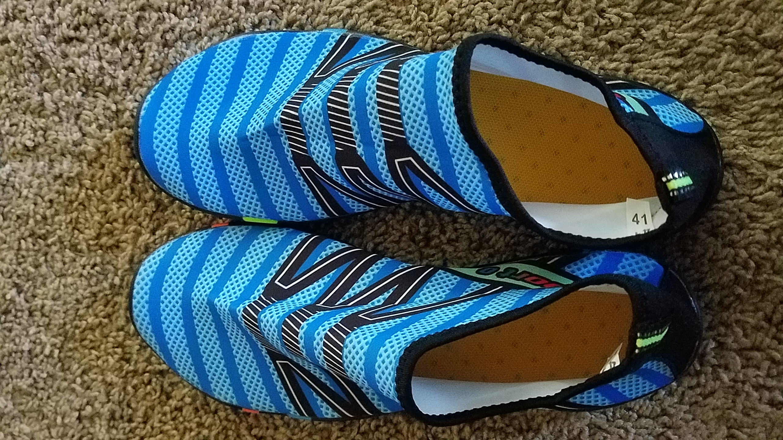 """Very light and comfortable, but a little big. Reminds me of the """"Kung Fu"""" sandals I used to wear 30+ years ago."""