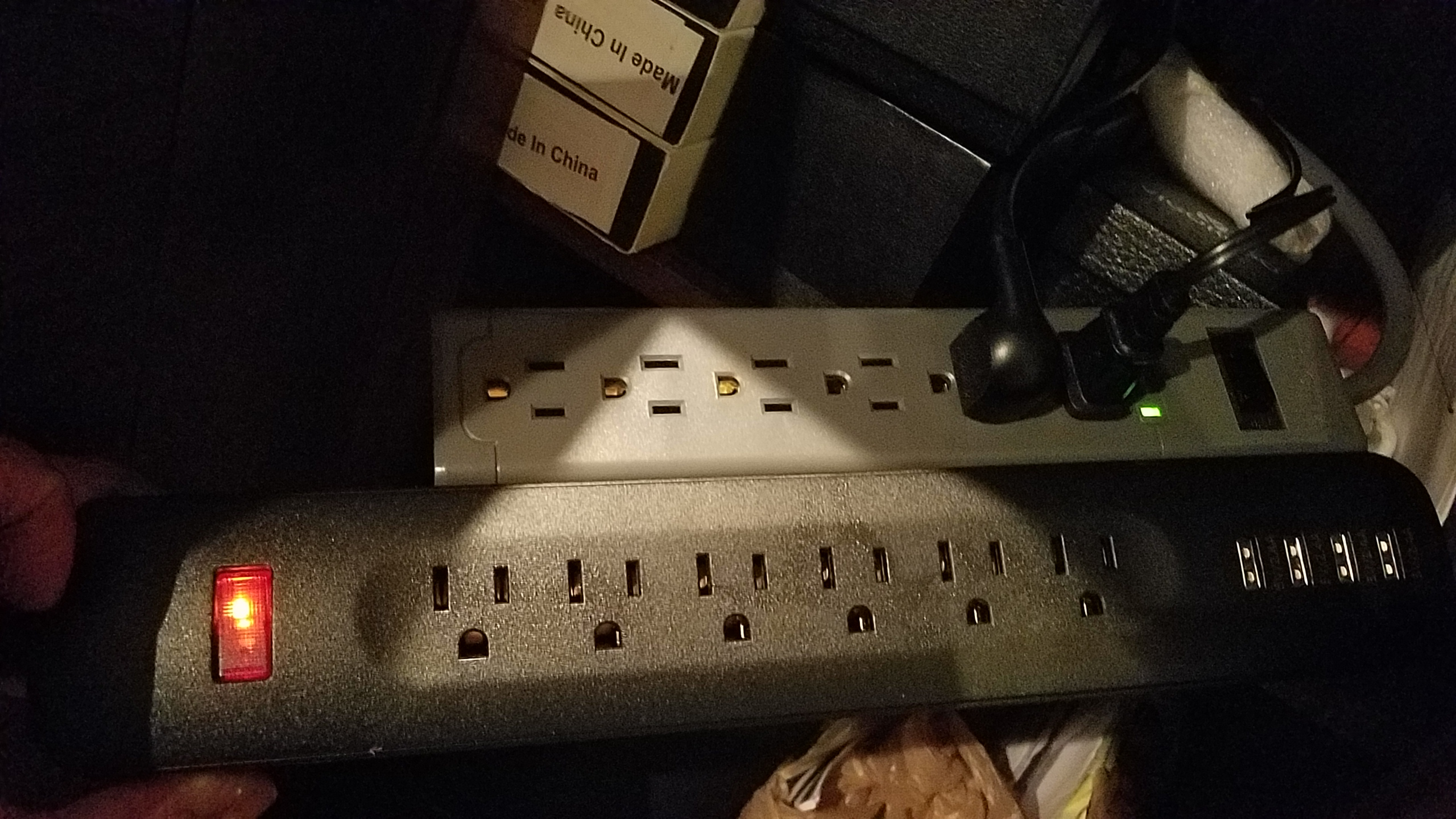 Got 6 outlets, but also 4 Ports for USB charging for just $2 more!