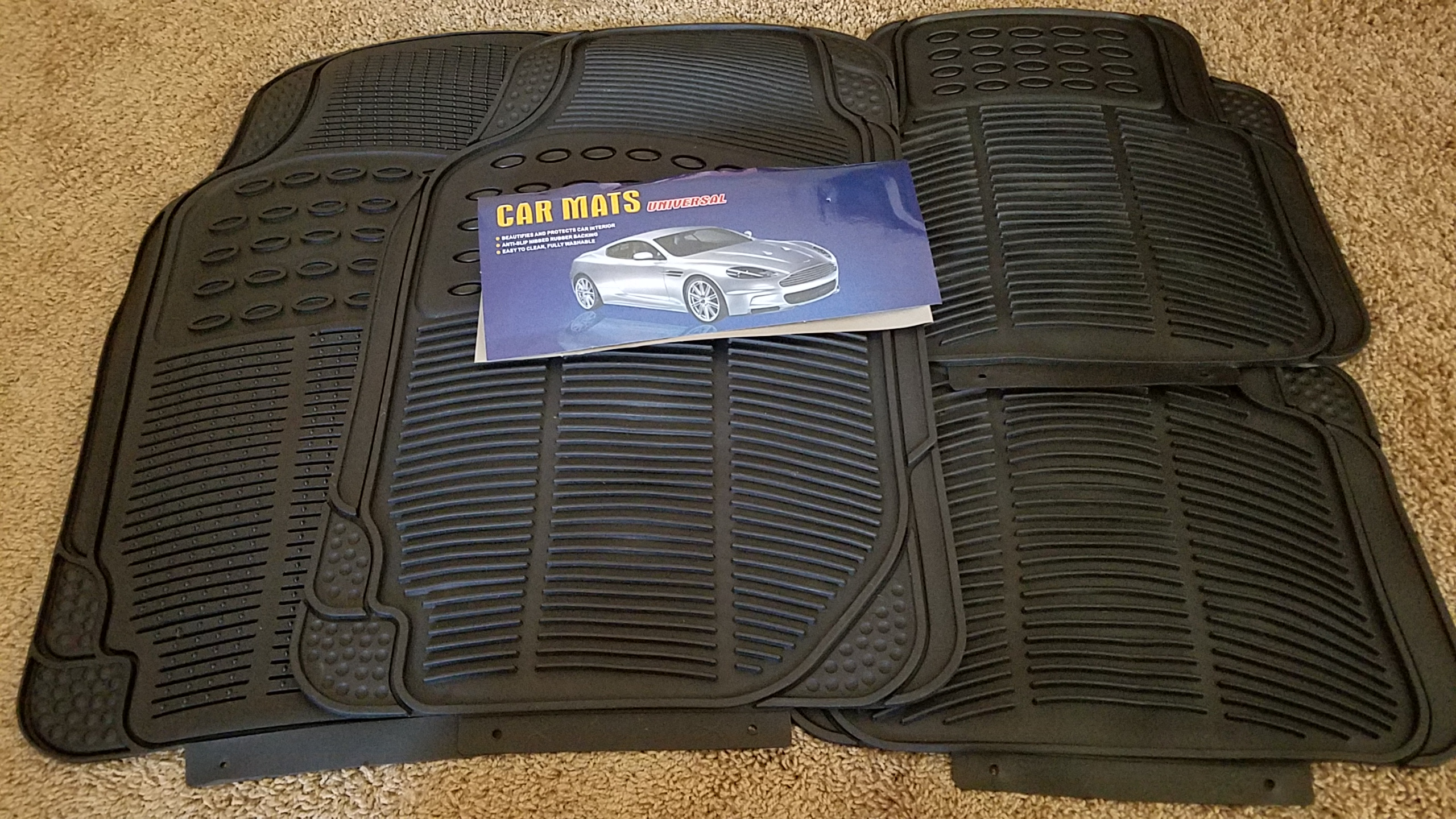 Very pleased with these car mats! Perfect fit!